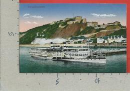 CARTOLINA NV GERMANIA - KOBLENZ - Ehrenbreitstein - 9 X 14 - Koblenz
