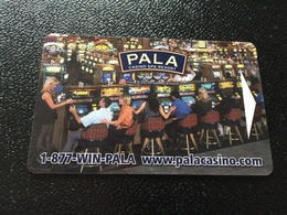 Hotelkarte Room Key Keycard Clef De Hotel Tarjeta Hotel  PALA CASINO RESORT - Telefonkarten