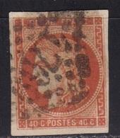 France Bordeaux N°48 (Cérès 40c. Orange) - 1870 Bordeaux Printing