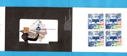 Netherlands  Mint Phonecard In Folder + Stamps - Télécartes