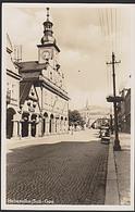 Vrchlabí Hohenelbe Sudeten-Gau Rathaus Photokarte * Photokarte - Sudeten