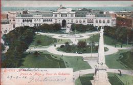 Argentina Argentine Plaza De Mayo Y Casa De Gobierno Buenos Aires 1906 - Argentinië
