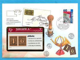 Switzerland Mint Phonecard In Envelope - Télécartes