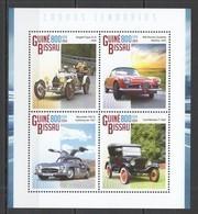 ST1153 2014 GUINE GUINEA-BISSAU TRANSPORT LEGENDARY CARS 1KB MNH - Autos