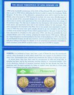 GB Mint Phonecard In Folder - Télécartes