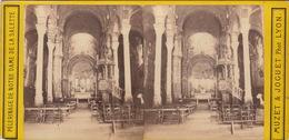 Photo Stéréo Pélerinage De Notre Dame De La Salette Muzet Joguet Photographe Lyon - Stereoscopic