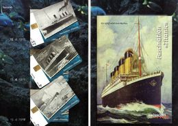 Switzerland 3 Mint Phonecards In Folder - Télécartes