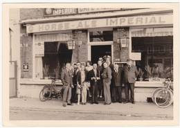 43301 -  Hannut  à  Identifier  Café  -  Photo Agfa  12,5 X  9 - Hannut