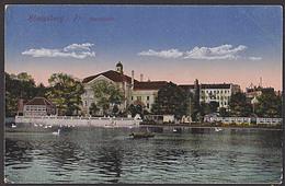 Königsberg In Preußen Stadthalle Kaliningrad Feldpost Carte Posatale 4 Cards, Schloss Wilhelmsplatz - Ostpreussen