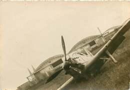 040320 - PHOTO ANCIENNE AVIATION - 1939 Avion Hangar A1 Et A2 - Aviation