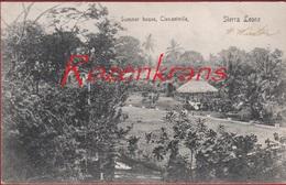 Sierra Leone Africa Afrique CPA RARE Afrika Summer House Clementville Freetown Epoque Coloniale (En Très Bon état) - Sierra Leone