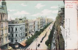Argentina Argentine Argentinie Avenida De Mayo Buenos Aires 1906 - Argentinië
