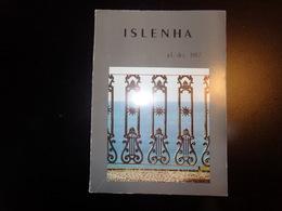Islenha , Revue N° 1, 1987, 124 Pages ( Couverture Abîmée ) - Revues & Journaux