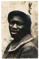 RPPC- African Afrika ? Black Soldiers POW ? Black Man (2-2) - Carte Photo Allemande 1914-1918 - Guerre 1914-18