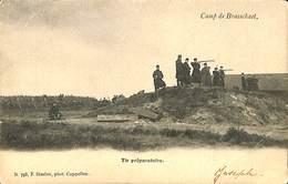 CPA - Belgique - Militaria -Camp De Brasschaet - Tir Préparatoire - Casernes