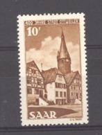 Sarre  :  Yv  276  * - 1947-56 Gealieerde Bezetting