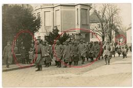 RPPC-  Gefangene Franzosen - Vogesen Elsass LIR 124 HartmannsweilerKopf ? - Carte Photo Allemande 1914-1918 - Guerre 1914-18
