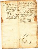 1666 FEDE DI CREDITO - Vecchi Documenti