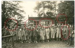 RPPC-  Gefangene Franzosen Pionierdorf - Vogesen Elsass  HartmannsweilerKopf ? - Carte Photo Allemande 1914-1918 - Guerre 1914-18