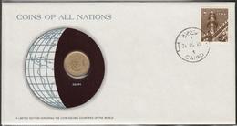 0139 - Numiscover / Enveloppe Numismatique - EGYPTE - 10 Millièmes 1973 - Egypte