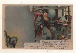 Faust    Carte Méteor Transparente   1902 - Opéra