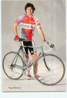 Pascal RICHARD . 2 Scans. Cyclisme. Helvetia La Suisse - Wielrennen