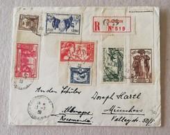 Raccomandata Da Saigon Per Monaco (Ger) - 13/07/1938 - Indochina (1889-1945)
