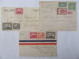 Nicaragua - 3 Enveloppes Vers Guatemala Et Dax (Landes) - 1930, 1932, 1953 - Nicaragua
