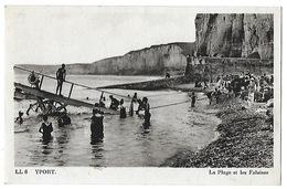 Yport-La Plage Et Les Falaises - Yport