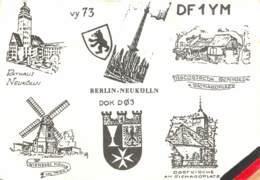 QSL - BERLIN - GERMANY - 1978 - Radio Amateur