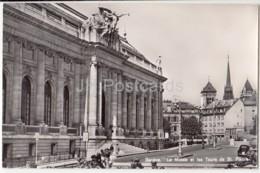 Geneve - Geneva - Le Musee Et Les Tours De St. Pierre - Museum - 205 - Switzerland - Old Postcard - Unused - GE Geneva