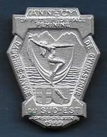 Epinglette - Annecy -  3e Fête Fédérale Féminine De Gymnastique 1949 - Gymnastics