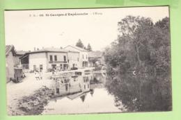 SAINT GEORGES D' ESPERANCHE - L' ETANG  - Restaurant BOUVARD - Ed. Bignon - TBE - 2 Scans - Other Municipalities