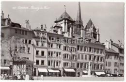 Geneve - Geneva - Bourg De Four - 157 - Switzerland - Old Postcard - Unused - GE Genève