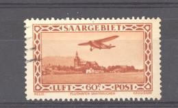 0ob 107  -  Sarre  -  Avion  :  Yv  3  (o) - Luchtpost