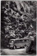 Postauto Kiental-Griesalp In Der Griesschlucht - Bus - 31077 - Switzerland - 1966 - Used - BE Bern