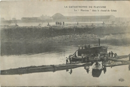 CALAIS  CATASTROPHE DU PLUVIOSE  DANS LE CHENAL DE CALAIS - Calais