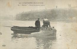 CALAIS  CATASTROPHE DU PLUVIOSE SORTIE DU PREMIER CADAVRE - Calais