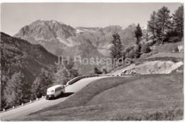 Au Col De La Forclaz S. Trient - Bel Oiseau - Bus - 16547 - Switzerland - 1958 - Used - VS Valais