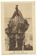 """AFRIQUE - BURKINA FASSO - N° 67 - BOBO - """"Masque Bobo Fling Fait En Fibre D'écorces D'arbres"""" - CPA - Burkina Faso"""