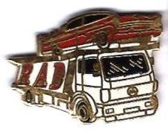 MERCEDES - M11 - RAD - CAMION  PORTE-AUTOS- Verso : HARMONIE - Mercedes