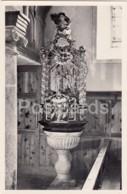 Taufstein - Pfarrkirche Oberwald - Switzerland - Old Postcard - Unused - VS Valais
