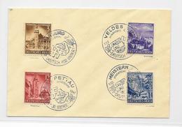 Deutsches Reich 1941 Eingliederung Steiermark Mi.806-809 Sonderstempel 4x Verschieden, Deutsch Für Immer, Geprüft - Briefe U. Dokumente