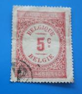 Belgie  Fiscal 5c Timbre Europe  Belgique  Fiscaux  Timbre Oblitéré - Revenue Stamps