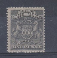 RHODESIA 1892 - 1893 1d SG 1 MOUNTED MINT Cat £19 - Altri