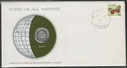 0149 - Numiscover / Enveloppe Numismatique - GUYANA - 25 Cents 1979 - Guyana