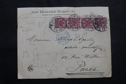 ALLEMAGNE - Enveloppe ( Devant ) Commerciale De Berlin Pour Paris Et Redirigé Vers Lille En 1895 - L 54638 - Allemagne