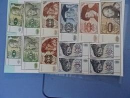 Spielgeld Im Bogen 5- 1000DM - [ 6] 1949-1990 : RDA - Rép. Dém. Allemande
