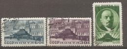 RUSSIE -  Yv N° 1185 à 1187  (o) Lénine  Cote 3 Euro  BE - 1923-1991 UdSSR
