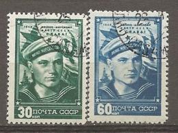 RUSSIE -  Yv N° 1222,1223  (o)  Journée De La Marine   Cote 10 Euro  BE   2 Scans - 1923-1991 UdSSR
